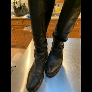 COACH women's leather boots. Size 10